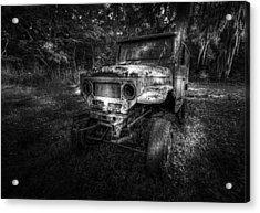 Jurassic Four Wheeler Acrylic Print by Marvin Spates