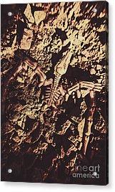 Jurassic Grave Acrylic Print