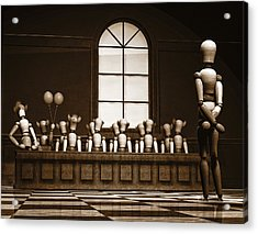 Jury Of Your Peers Acrylic Print by Bob Orsillo