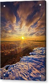 Acrylic Print featuring the photograph Just A Bit More To Go by Phil Koch