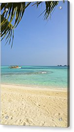 Just A Boat Ride Away Acrylic Print