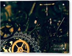 Just A Cog In The Machine 1 Acrylic Print