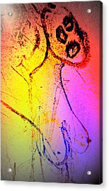 don't shoot me, I'm just a happy bastard Acrylic Print by Hilde Widerberg