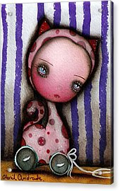 Just A Toy Acrylic Print by  Abril Andrade Griffith