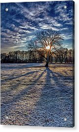 Just After Sunrise On A Cold Morning Acrylic Print