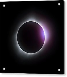 Just After Totality - Solar Eclipse August 21, 2017 Acrylic Print