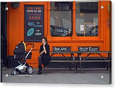Just An Orange Will Be Fine Acrylic Print by Jez C Self