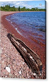 Just Another Pretty Beach Acrylic Print