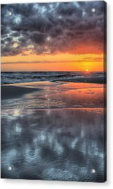 Acrylic Print featuring the photograph Just Another South Baldwin Sunset by JC Findley