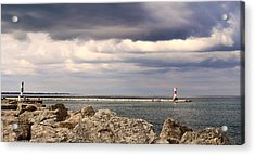 Just Before The Storm Acrylic Print by Milena Ilieva