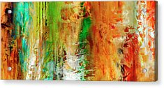 Just Being - Abstract Art Acrylic Print