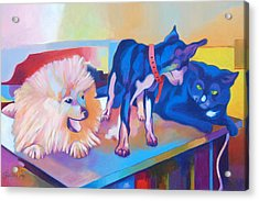Just Friends  Acrylic Print