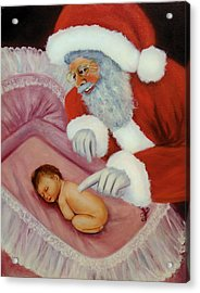 Just In Time For Christmas Acrylic Print by Joni McPherson