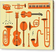Just Jazz Acrylic Print