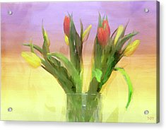 Just Like Spring Acrylic Print by Declan O'Doherty