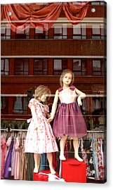 Just Look And You Will See That We Are Not Well Acrylic Print by Jez C Self