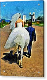 Just Married - Pa Acrylic Print