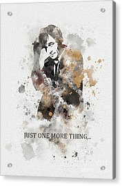 Just One More Thing... Acrylic Print by Rebecca Jenkins