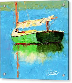 Just Outside Of Dubrovnk Acrylic Print by Leslie Saeta