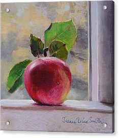 Just Picked Acrylic Print by Jeanne Rosier Smith