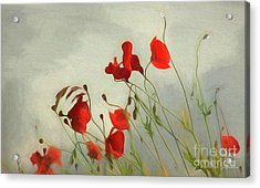 Just Some Poppies Acrylic Print