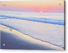 Just The Two Of Us - Jersey Shore Series Acrylic Print