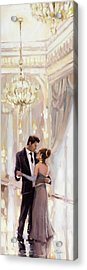 Acrylic Print featuring the painting Just The Two Of Us by Steve Henderson