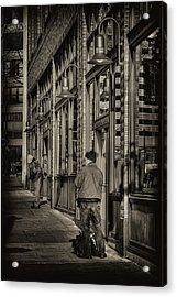 Just Waiting Acrylic Print by David Patterson