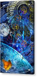 Justbecausality Acrylic Print by Kenneth Armand Johnson