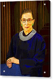 Justice Ginsburg Acrylic Print