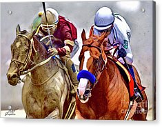 Justify In The Lead Acrylic Print