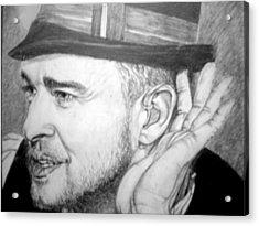 Justin Timberlake Acrylic Print by Sean Leonard
