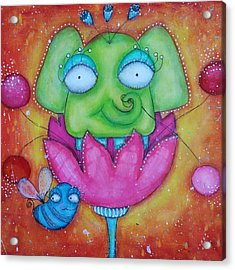 Justinbeeberry And Trompycyrus Acrylic Print