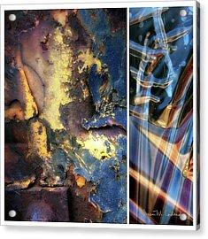 Juxtae #71 Acrylic Print