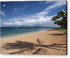 Acrylic Print featuring the photograph Ka'anapali Beach - Maui by Rau Imaging