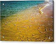 Kaanapali Beach Acrylic Print