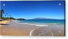 Kaanapali Beach In Maui Hawaii Acrylic Print by Stacia Blase