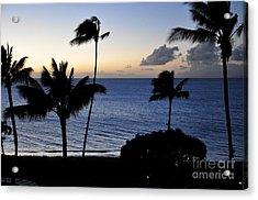 Ka'anapali Beach Maui Acrylic Print by Rosy Kueng