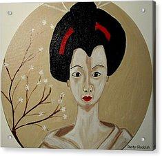 Kabuki Girl Acrylic Print