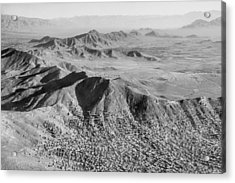 Kabul Mountainous Urban Sprawl Acrylic Print