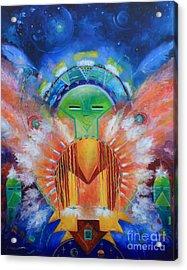 Kachina Spirit Acrylic Print by Gail Salitui