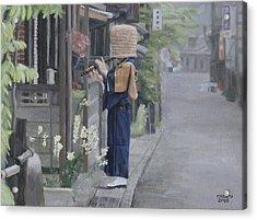 Kadotsuke Acrylic Print