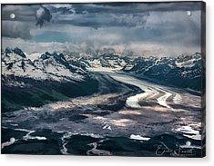 Kahiltna Glacier Acrylic Print