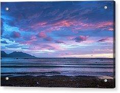 Kaikoura New Zealand Dawn Acrylic Print