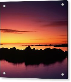 Kaikoura Sunrise, New Zealand. Acrylic Print
