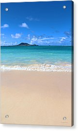 Kailua Beach Hawaii Acrylic Print by Kerri Ligatich