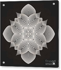 Acrylic Print featuring the digital art Kal - 71c89 by Variance Collections