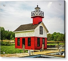 Kalamazoo Lighthouse Acrylic Print