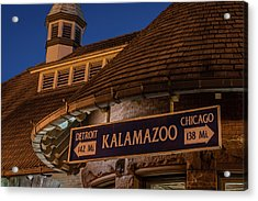 Kalamazoo Transportation Center Acrylic Print