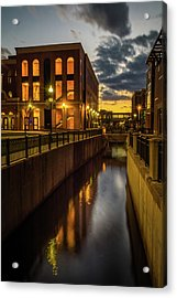 Kalamazoo Valley Community College Acrylic Print